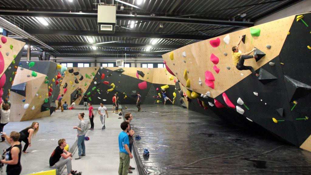 Revolt Bouldering Gym Delft The Netherlands